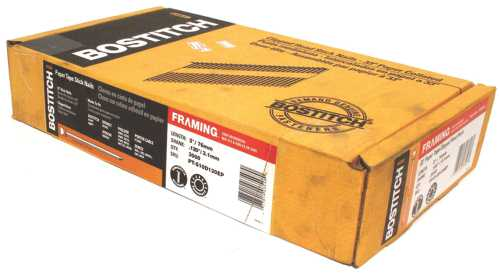 STANLEY BOSTITCH 3 IN. X 120 ROUND HEAD PAPER TAPE FRAMING NAIL