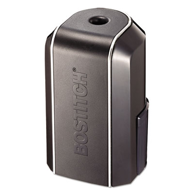 Vertical Battery Pencil Sharpener, Black, 3w x 3d x 5 1/8h
