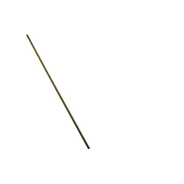 National Hardware 4001BC Corrosion Resistant Threaded Rod, NO 8 - 32 X 12 in, Solid Brass