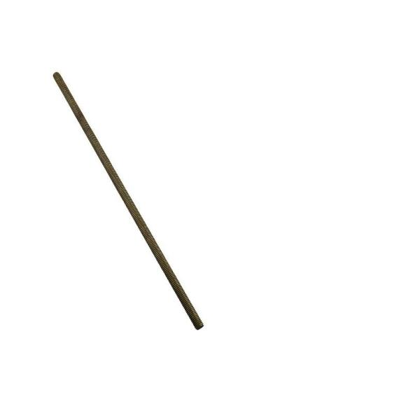 National Hardware 4001BC Corrosion Resistant Threaded Rod, 5/16-18 X 12 in, Solid Brass