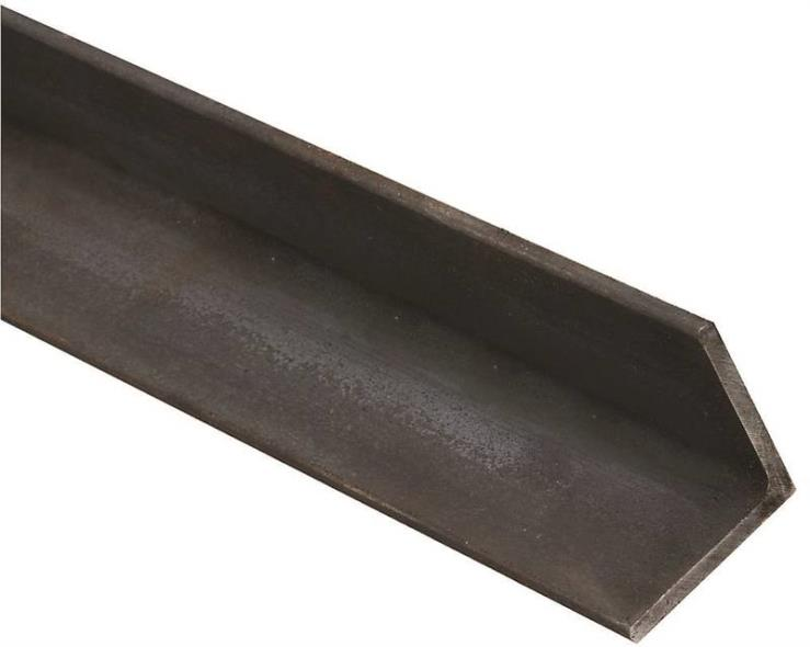 National Hardware N316-141 Solid Angle, 3/16 in T, 36 in L, Hot Rolled Steel, Plain Steel