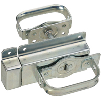 Stanley 833251 Heavy Duty Door Latch, Rugged Steel, Zinc plated