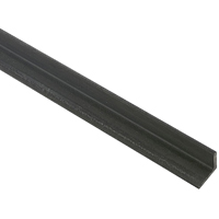 Stanley 215491 Equal Leg Weldable Angle, 1-1/2 in Leg x 1/4 in T, 4 ft L, Mill, Hot Rolled Steel