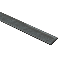 Stanley 215673 Weldable Flat Bar, 1-1/2 in W x 48 in L x 1/4 in T, Steel, Mill