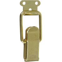 Stanley 833295 Lockable Draw Catch, Brass