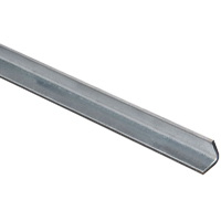 Stanley 179895 Equal Leg Angle, 3/4 in Leg x 12 ga T, 36 in L, Steel, Zinc Plated