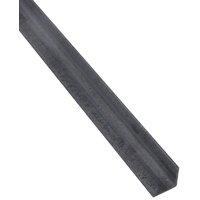 Stanley 215467 Equal Leg Weldable Angle, 1-1/2 in Leg x 1/8 in T, 48 in L, Steel, Mill