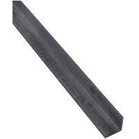 Stanley 301507 Equal Leg Weldable Angle, 1-1/2 in Leg x 1/8 in T, 36 in L, Steel, Mill