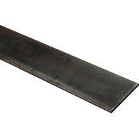 Stanley 266114 Weldable Flat Bar, 3 in W x 48 in L x 3/16 in T, Steel, Mill