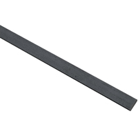 Stanley 215665 Weldable Flat Bar, 1 in W x 48 in L x 1/4 in T, Steel, Mill