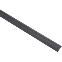 Stanley 215632 Weldable Flat Bar, 1-1/4 in W x 48 in L x 3/16 in T, Steel, Mill