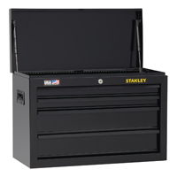 CHEST TOOL 4 DRAWER BLACK 26IN