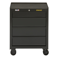 TOOL CABINET 4 DRAWER BLK 26IN