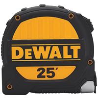 DeWalt DWHT33924/386 Measuring Tape, 16 ft L x 1-1/4 in W, Steel