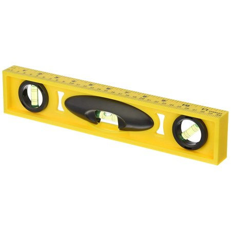 Stanley 42-466 High Impact Nonmagnetic I-Beam Level, 0.01 in 12 in L, ABS