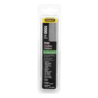 Stanley SWKBN625S Nail, 5/8 in, Steel, Chrome Plated