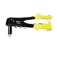 Stanley MR55C5 Right Angle Riveter, 1/8, 3/32, 5/32, 3/16 in, Spring Loaded, Plastic Handle
