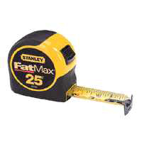 FatMax 33-725 Measuring Tape, 25 ft L X 1-1/4 in W, Steel