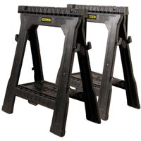 SAWHORSE FOLDING 2 PIECE PLASTIC
