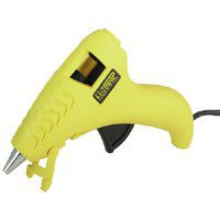 Stanley GR10 Hot Melt Corded Mini-Glue Gun, 120 V, Trigger Feed, Yellow