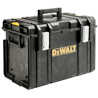 DeWalt DS400 ToughSystem Extra Large Tool Box 14 in W x 21 in D x 15 in H x 4 mm T, 110 lb, Black