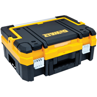 DeWalt TSTAK I Long Handle Tool Box 7.3 in W x 17.3 in D x 13 in H, 66 lb, Black/Yellow