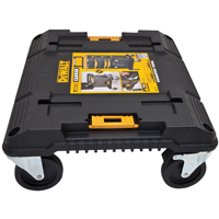 DeWalt TSTAK Wide Cart Storage System 16.96 in W x 18.915 in D x 7.02 in H, 220 lb, Black