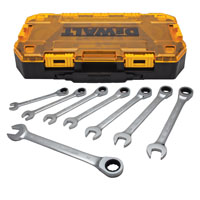 WRENCH METRIC RATCH COMBO 8PC