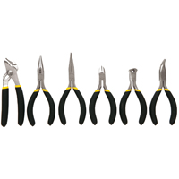 Stanley 84-079 Mini Plier Set, 6 Pieces, 1/2 - 4-1/4 in