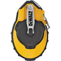 DeWalt DWHT47142 Heavy Duty Chalk Line Reel, 100 ft L, 4 oz Capacity, Blue