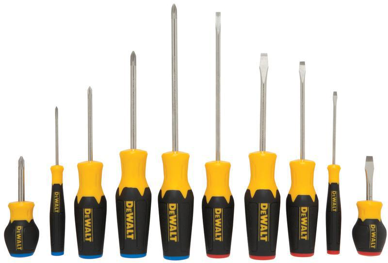 Dwht62513 10 Piece Screwdriver Set
