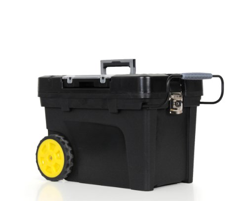 STANLEY� MOBILE TOOL CHEST WITH REMOVABLE ORGANIZER, 12 GALLON