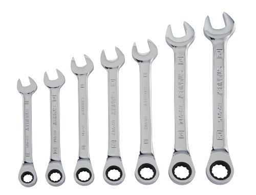STANLEY� 7 PIECE RATCHETING WRENCH SET MM