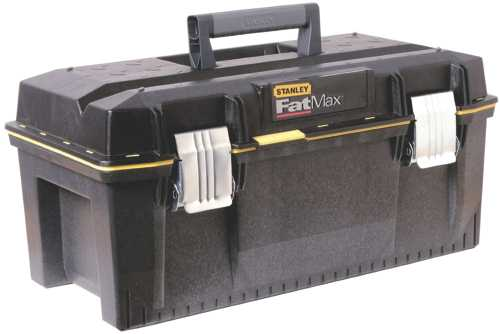 STANLEY� FATMAX� STRUCTURAL FOAM WATER RESISTANT TOOL BOX, 23 IN.