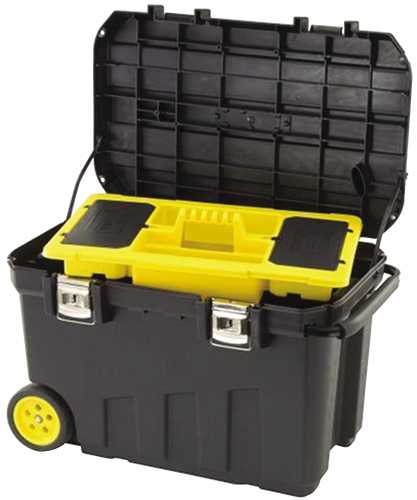 STANLEY� MOBILE TOOL CHEST, 24 GALLON
