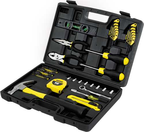 Stanley 65 Pc Homeowner's Tool Kit