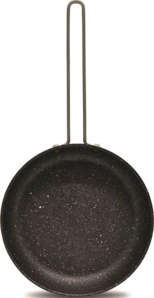 FRY PAN 6.5IN BLK SS WIRE HNDL
