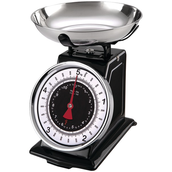 Gourmet By Starfrit 080211-003-0000 Retro Mechanical Kitchen Scale