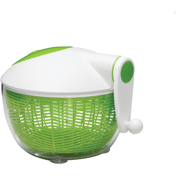 Starfrit 093028-002-0000 Salad Spinner (Green/White)