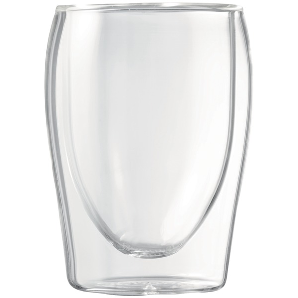 7OZ DBL WALL GLASS