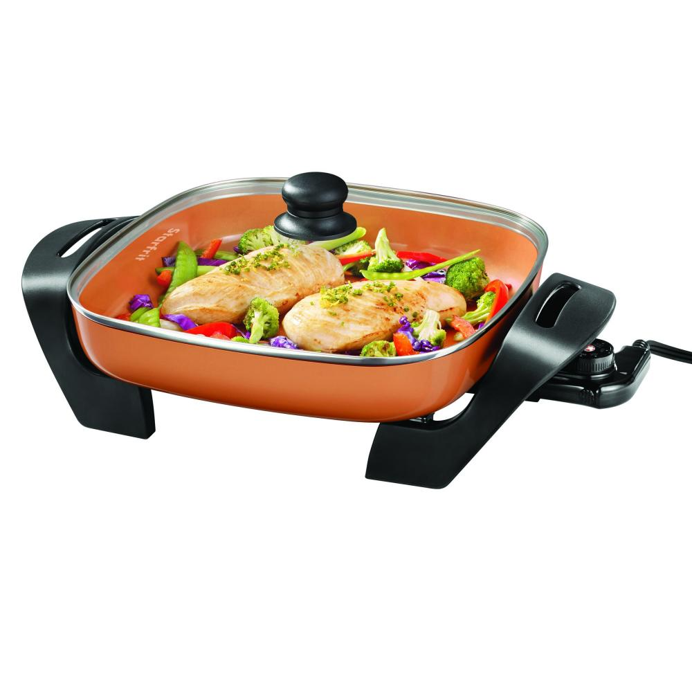 STARFRIT Eco Copper Ceramic 12-inch Electric Skillet