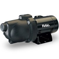 Flotec FP4012-10 Shallow Well Jet Pump, 1/2 hp, 1-1/4 in NPT Inlet, 1 in NPT Outlet, 230/115 V, 60 Hz, 9.4 A