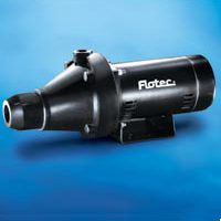 Flotec FP4022-10 Shallow Well Jet Pump, 3/4 hp, 1-1/4 in NPT Inlet, 1 in NPT Outlet, 230/115 V, 60 Hz, 6.1/12.2 A