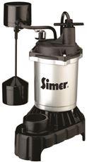 PENTAIR WATER PUMPS ZINC SUMP PUMP WITH CAST IRON BASE, VERTICAL SWITCH, 1/3 HP