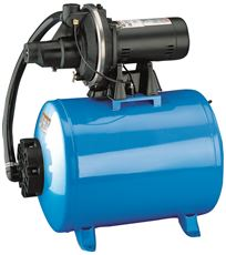 STA-RITE� SHALLOW WELL JET MOUNTED ON 19 GALLON TANK, 3/4 HP