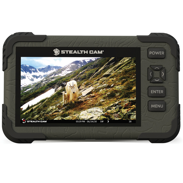 Stealth Cam STC-CRV43XHD 1080p High-Definition SD Card Viewer with Touch Screen