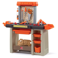 PLAYSET HANDYMAN WORKBNCH ORNG