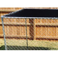 spsfence DKTB11010 Sun Block Kennel Top With Reinforced Grommets, 10 ft Length X 10 ft Width
