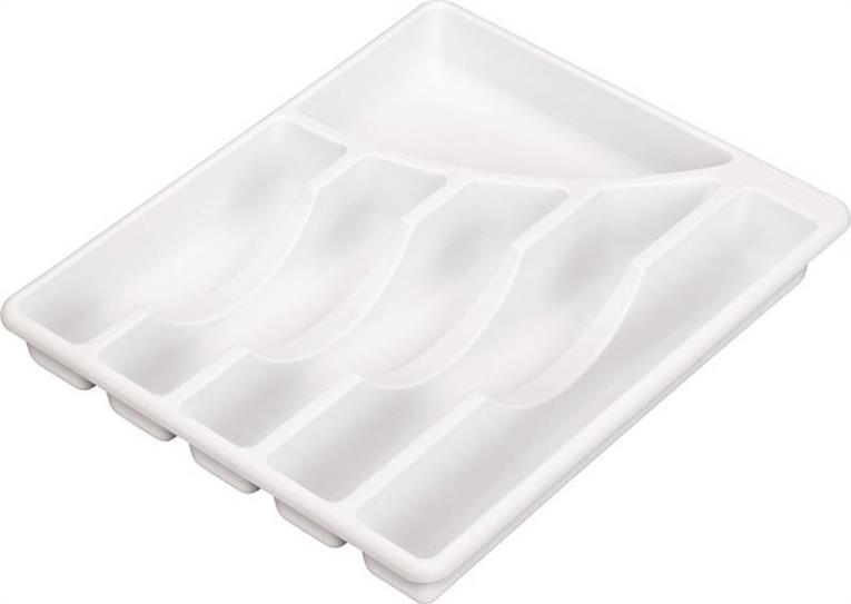Sterilite 15758006 Cutlery Trays, White