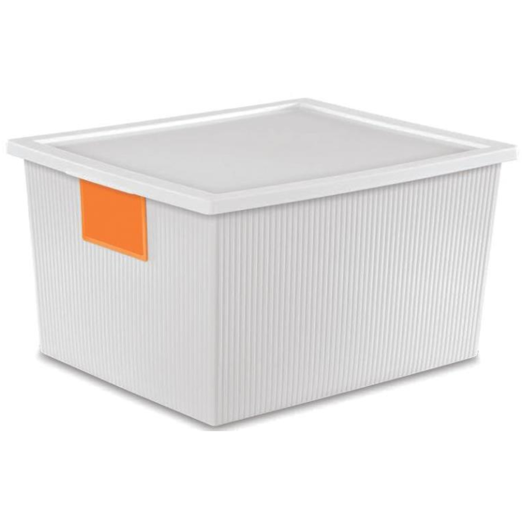 BOX ID WHITE 25 QT